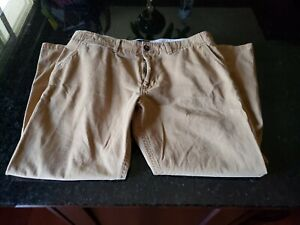 American Eagle Outfitter Mens Pants Size 36 X 30 Relaxed Straight Tan Very Nice
