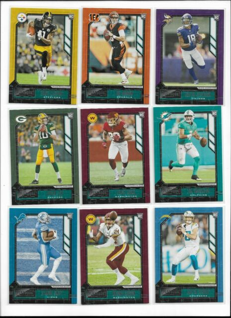2020 Panini Playbook Retail Rookie Pick Card Complete Your Set RC