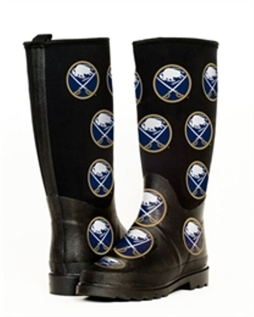 NEW BUFFALO SABRES ENTHUSIAST WOMEN'S RAIN BOOTS ALL SIZES