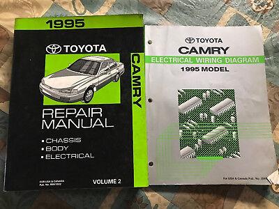 Toyota Camry Repair Manual 2 Electrical Wiring Diagram ...