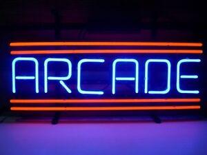 New Arcade Game Room Beer Neon Sign 14