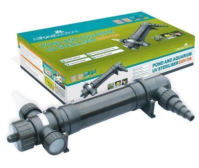 All Pond Solutions Cuv-155 Sterilizzatore Luce Uv/chiarificatore Filtro, 55 W-rifier Filter, 55 W It-it