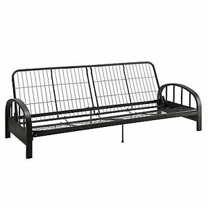 Durable Dhp Aiden Futon Black Metal Frame Construction Quickly