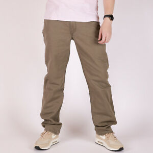 Levi-039-s-514-Regular-Fit-Gerade-leg-Earth-Braun-Herren-Hose-32-32
