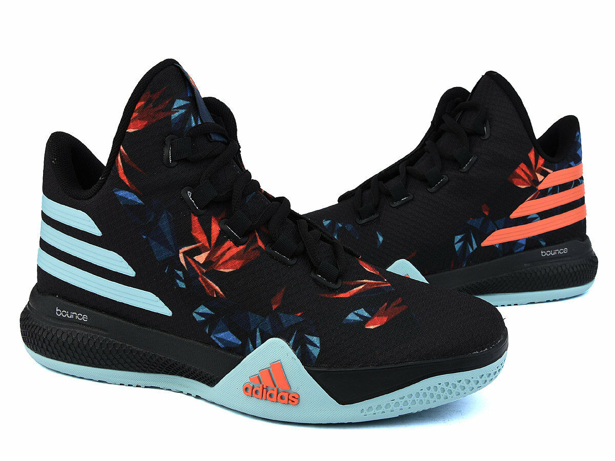Adidas LIGHT EM UP 2 BASKETBALL SHOES Black Sneakers NEW Adidas AQ7588