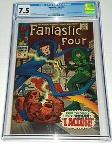 Fantastic-Four-65-CGC-7-5-VF-Marvel-1967-1st-Ronan-the-Accuser