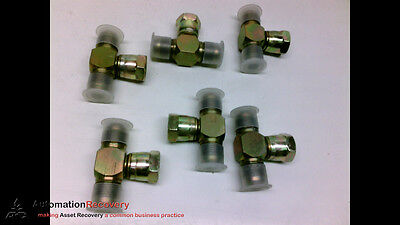 Male Hydra Flex 6600-8-8-8 Pack Of 6 #203476 Discounts Price Branch Tee Hydraulic Adaptor