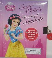 Disney Princess Snow White's Book Of Secrets Diary Lock & Key Memories Ages 3+