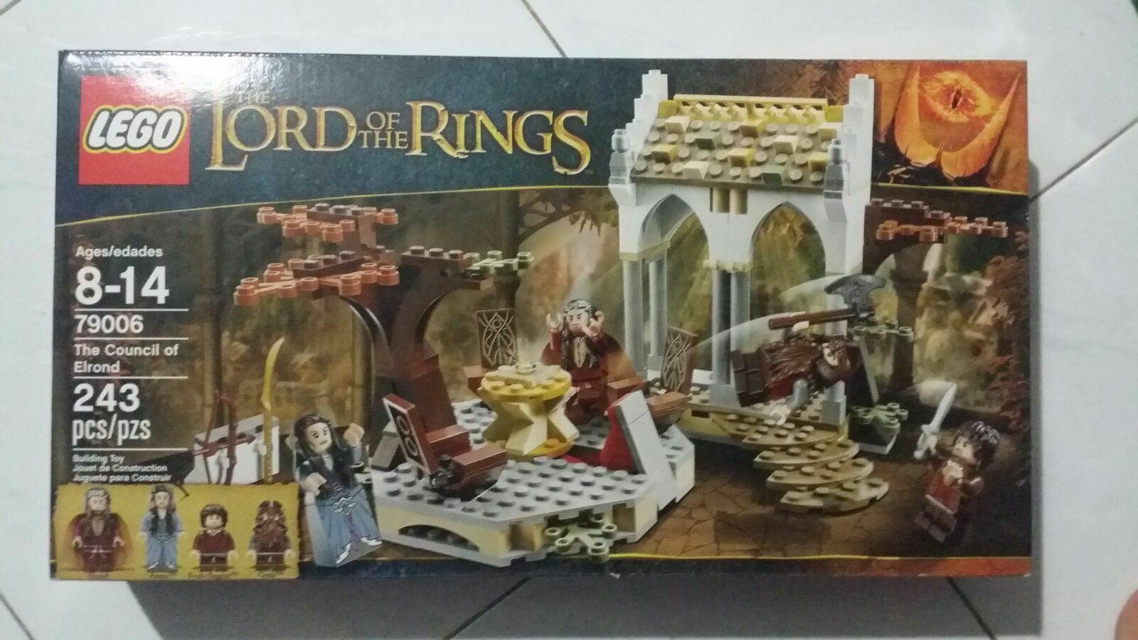 LEGO The Lord of the Rings 79006 Council of Elrond Arwen Gimli Frodo Baggins NEW