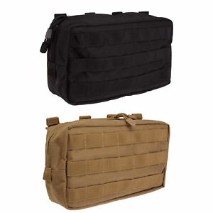 Details About 5 11 Tactical Molle Horizontal Pouch Gear Bag Style 58716 Black Flat Dark Earth