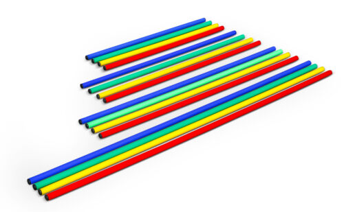 Koordinationsstange Gymnastikstange Ersatzstange 80 100 120 160 cm Stangen