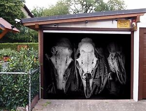 Image Is Loading 3D Dinosaur Fossil Garage Door Murals Wall Print