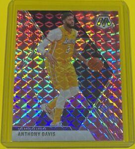 2019-20 Panini Mosaic Anthony Davis CAMO PINK PRIZM Los Angeles Lakers #18 SP 🔥