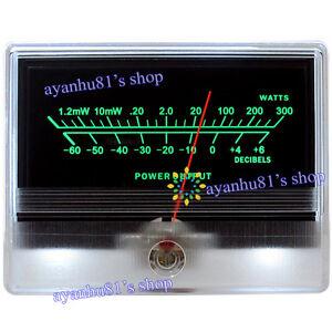 vu panel meter audio power amplifier indicator db table level header rh ebay com Best Home Power Amplifiers Best Home Power Amplifiers