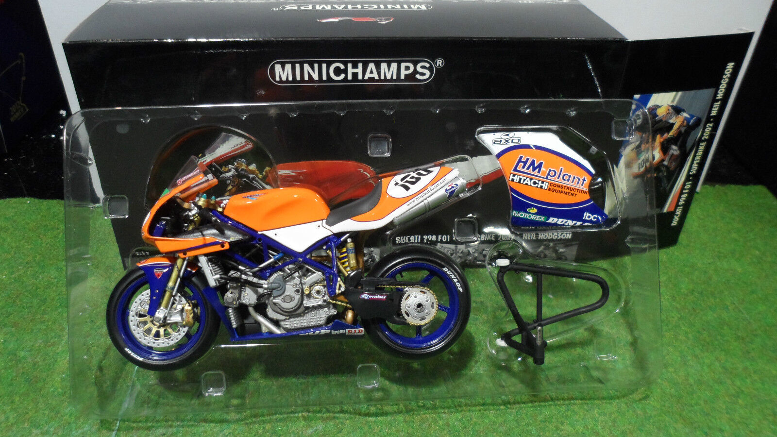MOTO DUCATI 998 F01  WSB 2002 SUPERBIKE 1 12 Minichamps 122021200 miniature coll.  branché