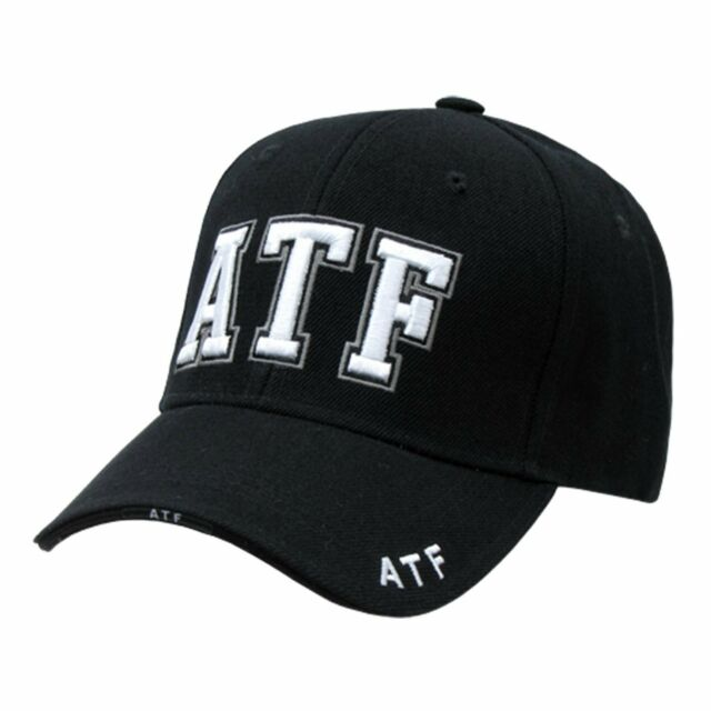 Buy Black ATF Alcohol Tobacco   Firearms Hat Hats Cap Caps online  a1ee2fe1fa6