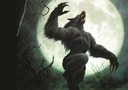 HOWL OF THE WEREWOLF A3 PICTURE ART POSTER PRINT GZ144
