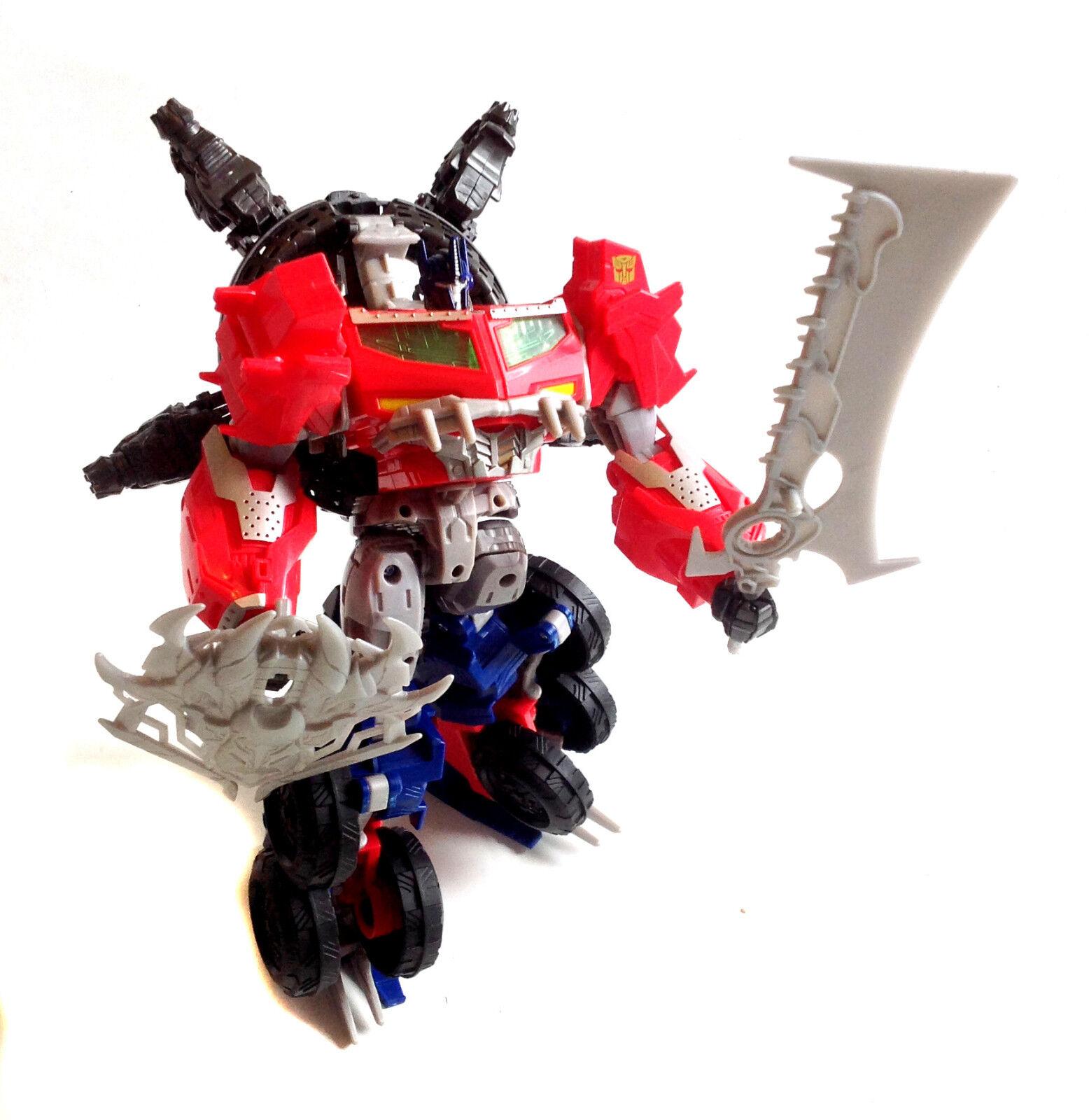 TRANSFORMERS Optimus Prime BEASTHUNTERS Leader Large 12