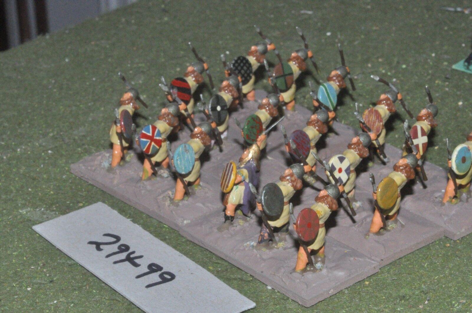 25mm roman era   dacian - javelinmen 18 figures - inf (29499)