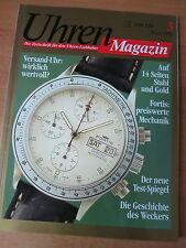 Uhren-Magazin Nr. 3 1993 - Uhren Zeitschrift, Uhrenheft, Magazin