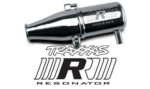 Traxxas 5490 ROAR Legal Resonator Tuned Pipe Revo 2.5, 3.3, & Slayer
