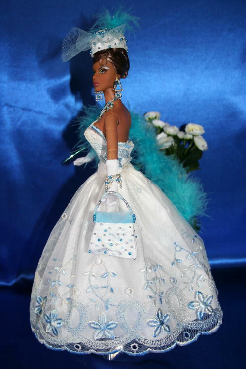 WINDOLAR dress OOAK OOAK OOAK 8pc. Outfit Barbie SILKSTONE Fashion Royalty doll Anita.N 17c2e7