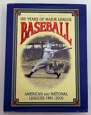100 Years of Major League Baseball 1901-2000 Book Saul Wisnia, David Nemec