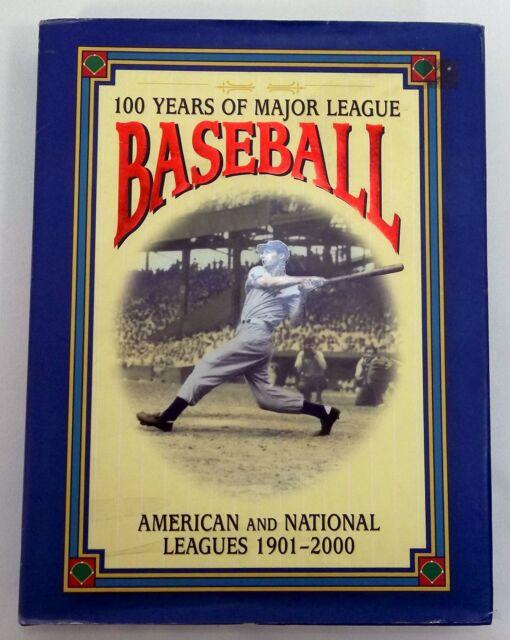 100 Years of Major League Baseball 1901-2000 Book Saul Wisnia, David Nemec