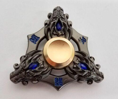 KING OF GLORY Tr-Fidget Hand Spinner Finger Stress EDC Toy