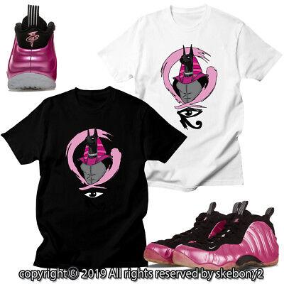 brand new ff3c7 ba29b CUSTOM T SHIRT MATCHING STYLE OF air foamposite one pearlized pink FOAM  1-21-5 | eBay