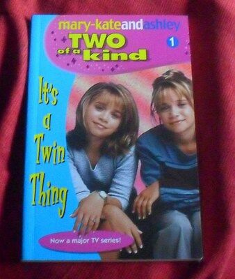 Mary-Kate and Ashley - Two of a Kind #1 - It's a Twin Thing ch sc 1113