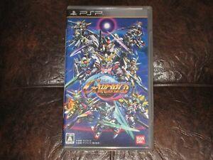 SD-Gundam-G-Generation-World-Playstation-Portable-PSP-JP-Japan-Import