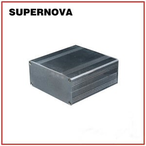100-99-6-43-Silver-Aluminum-PCB-Instrument-Box-Enclosure-Electronic-Project-DIY