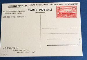 Entier-Postal-299-CPI-Avec-Vu-De-New-York-Au-Dos-Tres-Bel-Etat-Cote-25