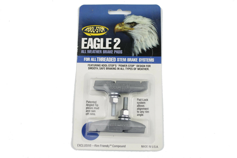 Sold In Pairs Kool Stop Eagle 2 Brake Pads Red