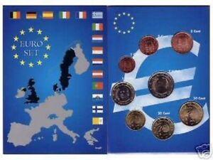 EURO ESPAGNE 2001  SERIE COMPLETE 1C A  2 E NEUVE
