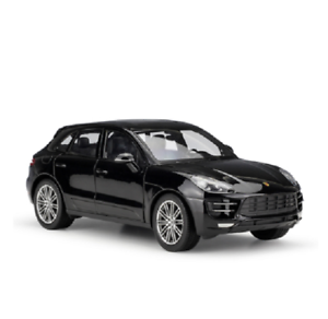 Welly-1-24-Porsche-Macan-Diecast-Model-Sports-Racing-Car-Toy-NEW-IN-BOX-Black