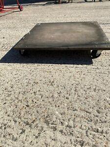 Wooden Skate Platform Trolley For Furniture Moving Plates Sack Truck Alternative