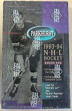 1993-94 Upper Deck Parkhurst Hockey Factory Sealed Series 1 Box E Ice Gretzky?