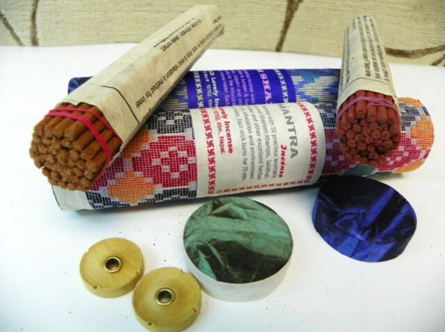 T361 HAND ROLLED NEPALESE/TIBETAN MEDITATION INCENSE STICKS 2PKT MADE IN NEPAL