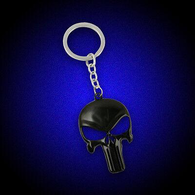 Cool Marvel Avengers Iron Man 3 Skull Mask Detachable Keychain Round Keyring