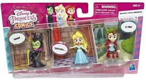 Disney Princess Set Maleficent Aurora Comic Dolls Kids Play Figure Pack Toy Gift