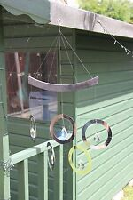 Olympian Crystal Rings Wind Spinner RRP £25.99