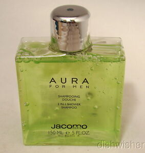 AURA-JACOMO-POUR-HOMME-2-in-1-Shower-Shampoo-150-ml-5-oz-NEW-NWOB-Vintage