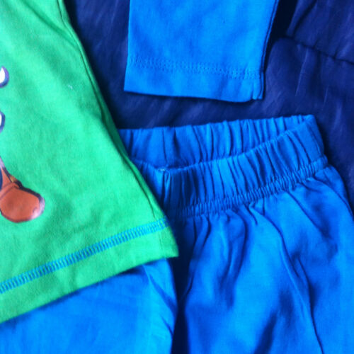 Toy Story Buzz Lightyear Woody Pigiama Pj Nightwear LUCE ANNO Pjs LINEA RAGAZZO BAMBINO