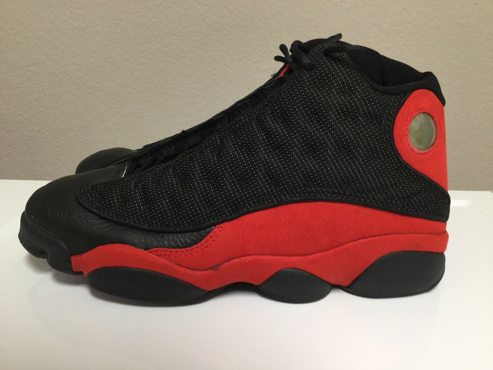 1997 Original OG Nike Air Jordan 13 XIII Size 12, Black True Red, New w Box