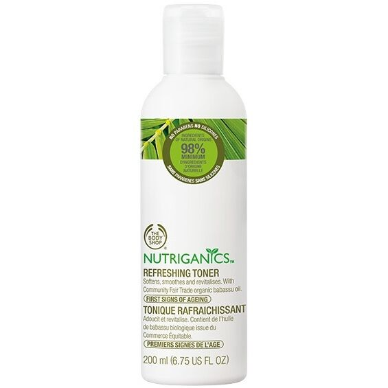 Image result for THE BODY SHOP NUTRIGANICS REFRESHING TONER