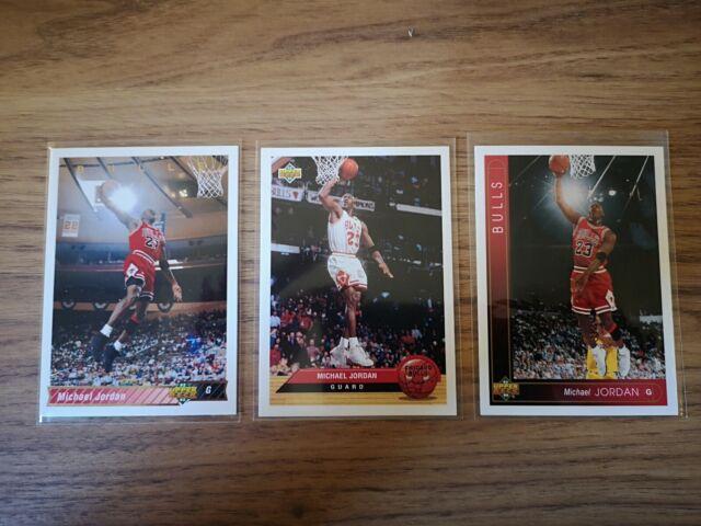 Michael Jordan 1992-93 1993-94 Upper Deck Lot (3) #23 #P5
