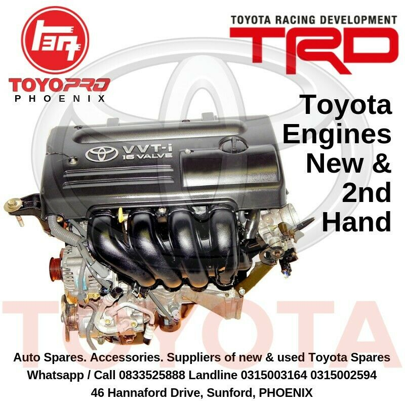 TOYOTA Engines New and 2nd hand FOR SALE ToyoPro