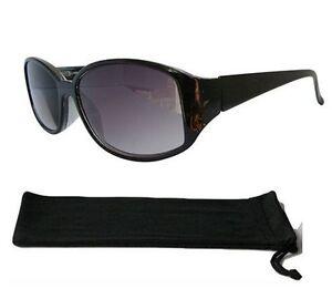 Black Frame Designer Glasses : Ladies Sun Readers Black Frame Designer Tinted Reading ...